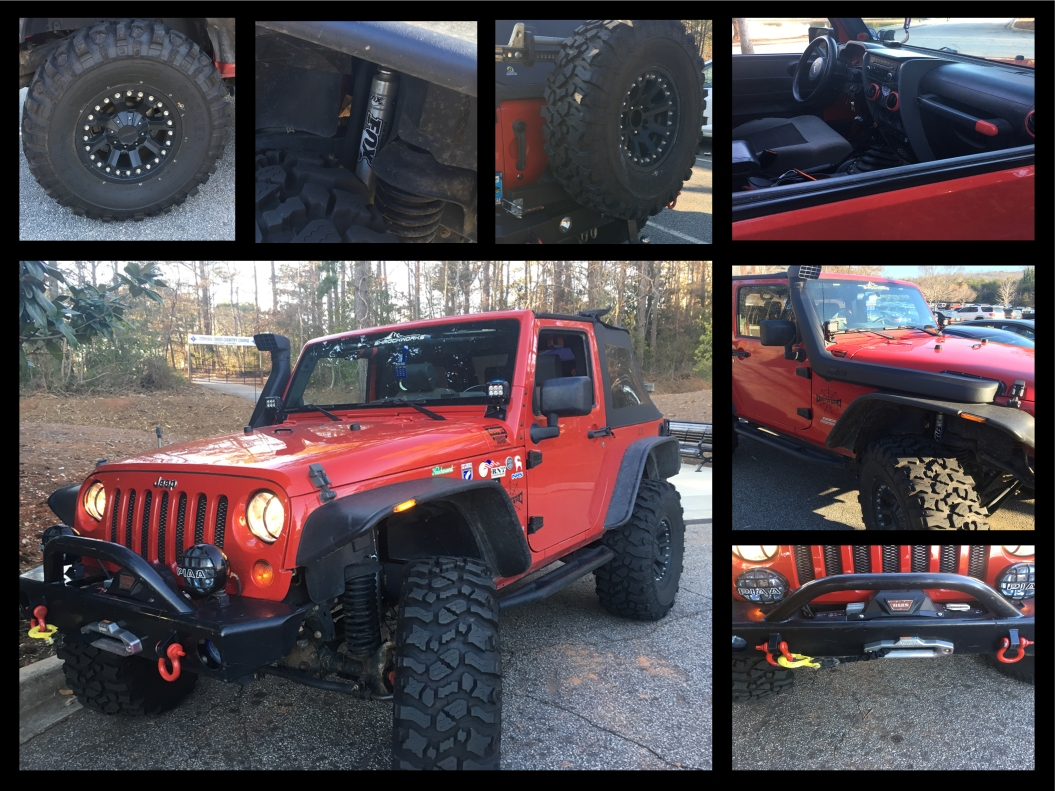Ethan Pretch's (sophomore) 2013 Jeep Wrangler
